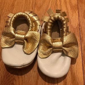 Other - Baby moccasins hand made for my daughter!